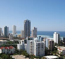 Surfers Paradise, Qld by Corrie Wharton