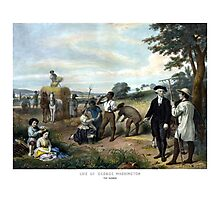 George Washington The Farmer Photographic Print