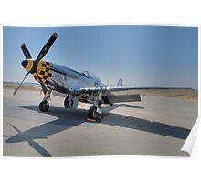 "P-51D Mustang ""Kimberly Kaye"" Poster"