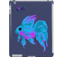 cool electric goldfish & bug iPad Case/Skin