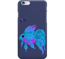 cool electric goldfish & bug iPhone Case/Skin
