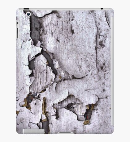 Paint Peeling, Old Urban Wall, Natural Patterns iPad Case/Skin