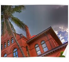 Key West Custom House Poster