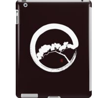Tree Enso Whte iPad Case/Skin