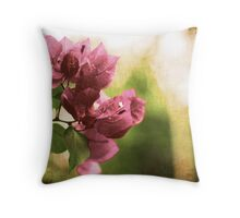 Vintage flower Throw Pillow