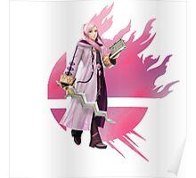 Super Smash Bros Alt. Pink Robin 3ds/wii u Poster