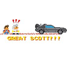 Great Scott!!! Photographic Print