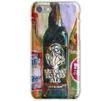 Alaskan - Budweiser - Arrogant - Pliny - Blue Moon Beer  Beer Painting Art iPhone Case/Skin