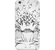 Shintaro Kago / Flying Lotus - Eyes Above iPhone Case/Skin