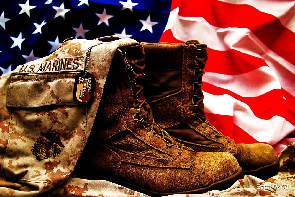 USMC by Sara Wood