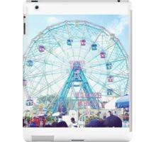 Wonderwheel at Coney Island in Brooklyn, New York City iPad Case/Skin
