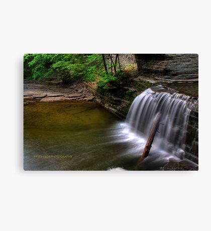 Buttermilk falls 8 HDR Canvas Print