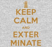 Keep Calm And Exterminate Doctor Who Kids Clothes