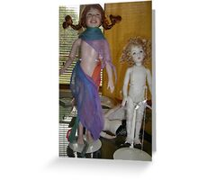 Dollcraft: Pippi-Longstocking & her Angel Greeting Card