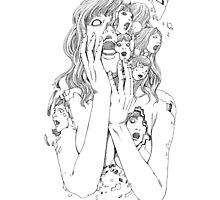 Shintaro Kago / Flying Lotus - You're Dead by GUUN O)))
