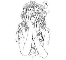 Shintaro Kago / Flying Lotus - You're Dead Photographic Print