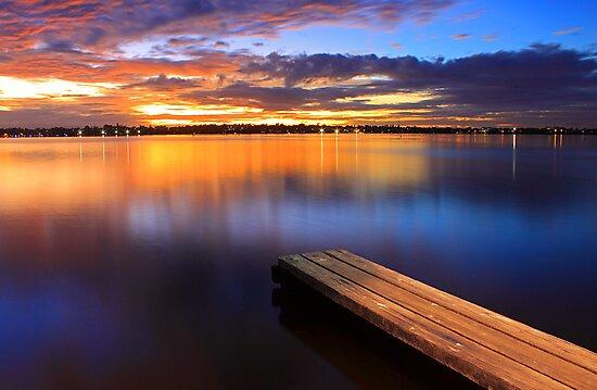 Swan River Jetty - Western Australia  by EOS20