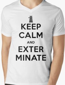 Keep Calm And Exterminate Doctor Who T-Shirt