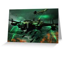 Lancaster Assault Greeting Card