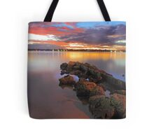 Swan River Sunset  Tote Bag