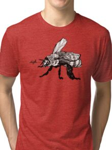 the plight of the honeybees Tri-blend T-Shirt