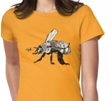 the plight of the honeybees Womens Fitted T-Shirt