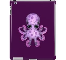 Cute Purple Baby Octopus iPad Case/Skin