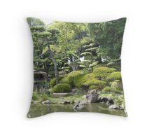 Japanese garden 3 Throw Pillow