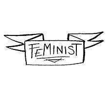 Feminist. Photographic Print