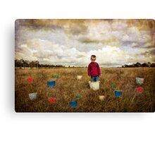 Waiting For The Rain Canvas Print