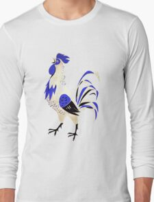 Blue Rooster Long Sleeve T-Shirt
