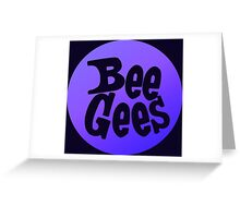 Bee Gees 2 Greeting Card