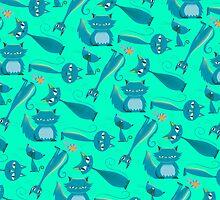 Cats blue by Shane McGowan