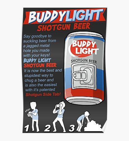 Shotgun Beer Poster