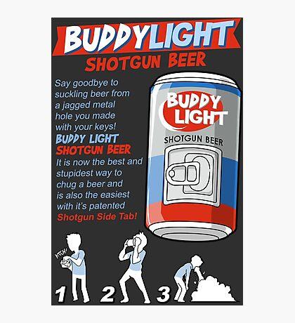 Shotgun Beer Photographic Print