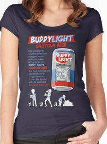 Shotgun Beer Women's Fitted Scoop T-Shirt