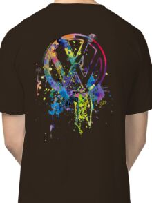 Volkswagen Emblem Splatter © Classic T-Shirt