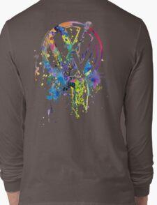 Volkswagen Emblem Splatter © Long Sleeve T-Shirt