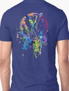 Volkswagen Emblem Splatter © Unisex T-Shirt