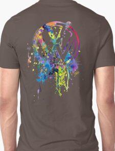 Volkswagen Emblem Splatter © T-Shirt