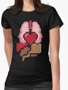 8-bit Organs Womens Fitted T-Shirt