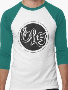 E.L.O. BLACK Men's Baseball ¾ T-Shirt