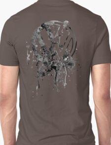 Vee Dub Emblem Splatter BW © Unisex T-Shirt
