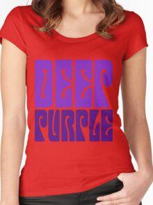 DEEP PURPLE Women's Fitted Scoop T-Shirt