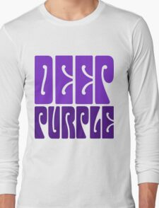 DEEP PURPLE Long Sleeve T-Shirt