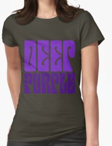 DEEP PURPLE Womens Fitted T-Shirt