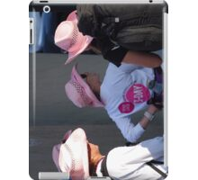 Breast cancer, everyone deserves a lifetime < iPad Case/Skin