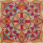 Indian Mandala by Pam Wilkie