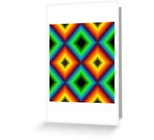 Checkered Luv Greeting Card