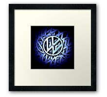 Shiny Volkswagen Badge Framed Print